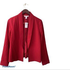 Chico deep red blazer